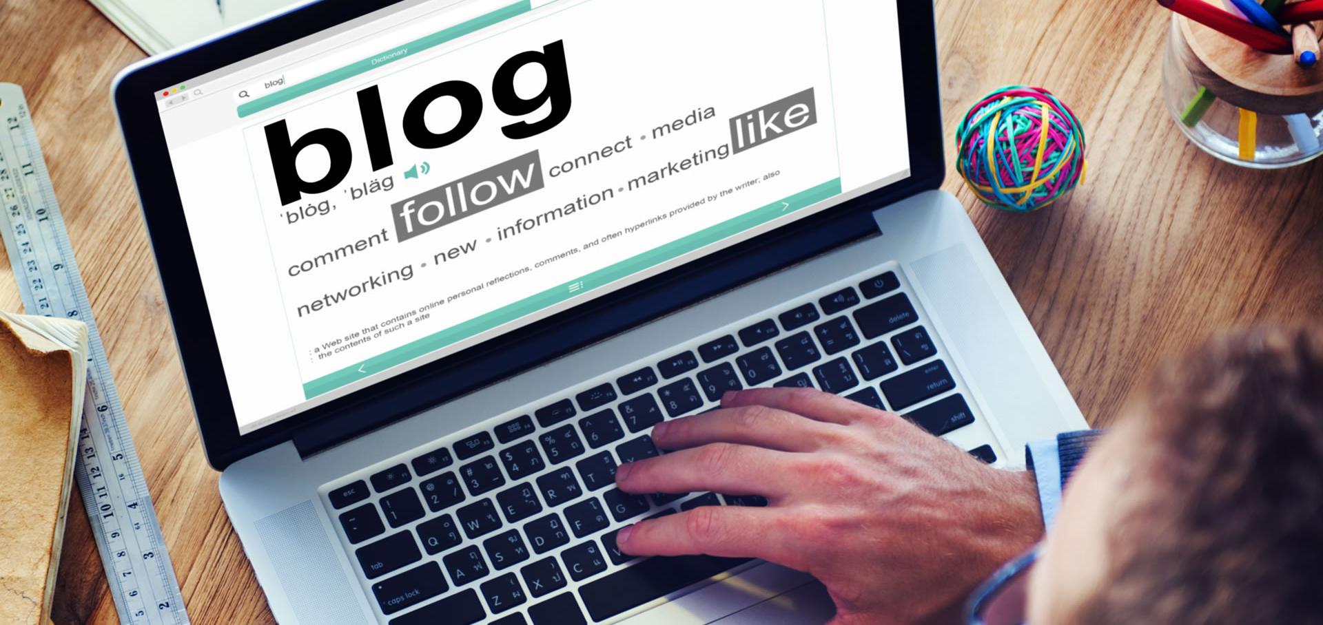 L'importanza del blog per le aziende e professionisti